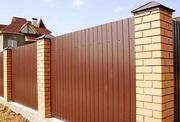 Заборы,  ворота ,  калитки и любые металоконструкции из металопрофиля и